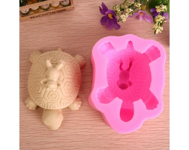 3D Tortoise Frog Silicone Fandant Mold Chocolate Soap Mould